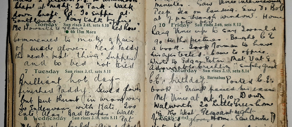 Alice. June 5th - 11th, 1921