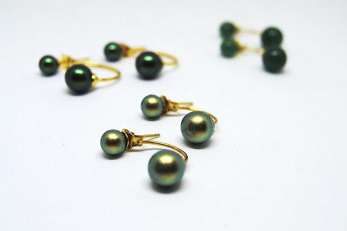 orecchini argento dorato