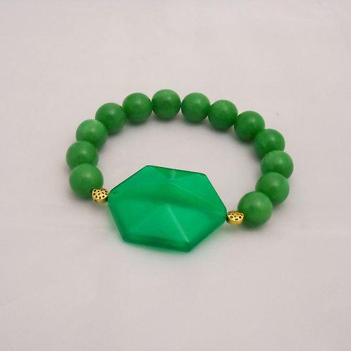 bracciale verde