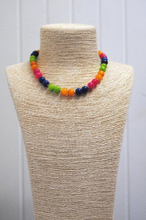 Girocollo multicolor