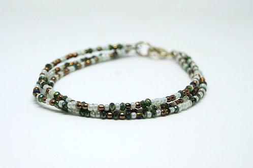 bracciale perline colorate