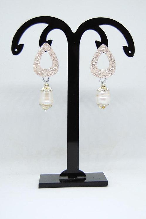 orecchini perla scaramazza