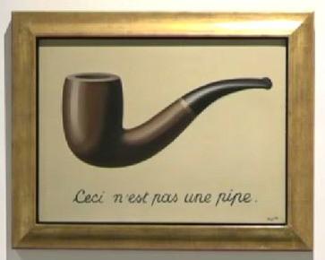 Ceci n'est pas une pipe ; Cela est la question