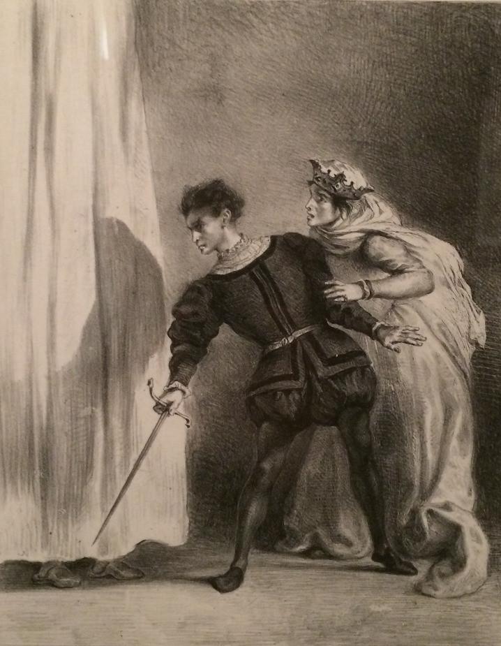 Hamlet Eugène Delacroix