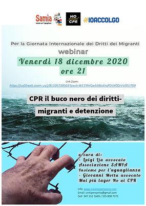 CPR il buco nero dei diritti - migranti