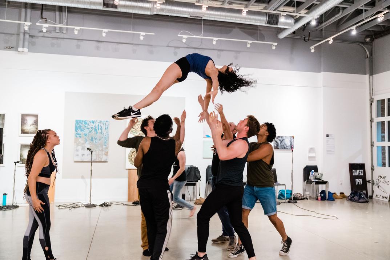 Dance Captain, Sheila U/S in HAIR (2019, Serenbe Playhouse)
