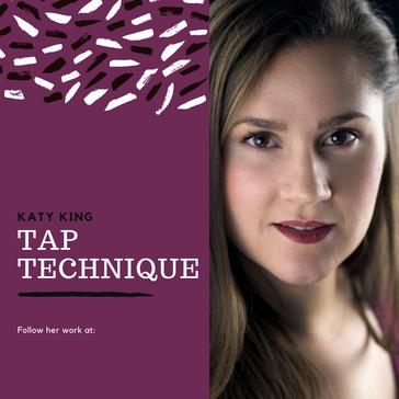 Katy King: Tap Technique + Resistance Through Dance