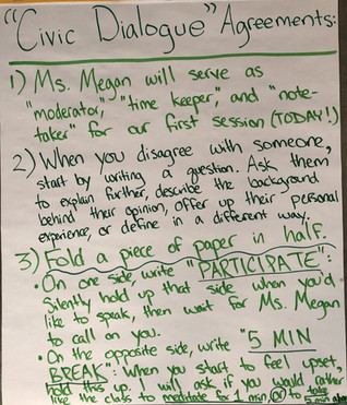 Civic Dialogue Agreements: 5th Grade