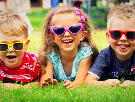 Choosing Sunglasses for your kids.