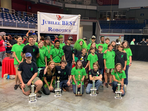 MACH Places 1st at Jubilee BEST