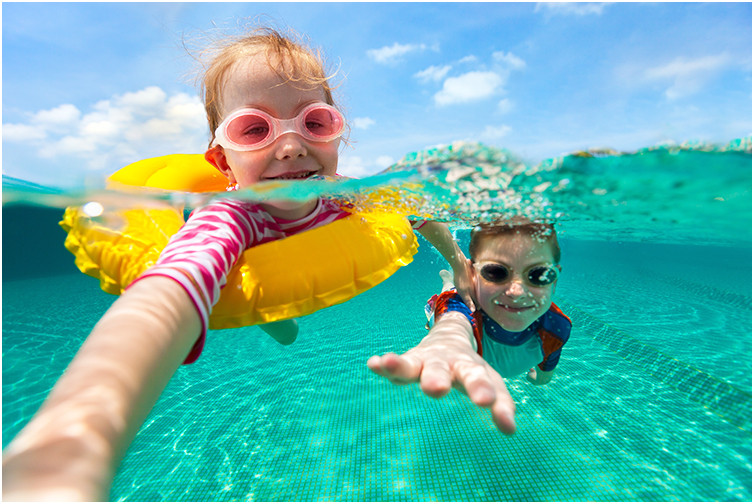 Prescription swimming goggles for kids and adults