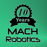 MACH Logo Green Background (10 Years) Sq