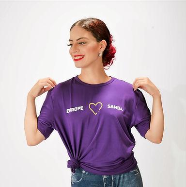 T- shirt Europe Love Samba