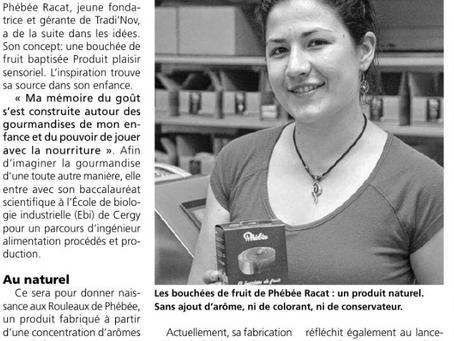 Gazette du Val d'Oise découvre nos Rouleaux !