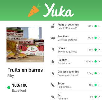 peu calorique maigrir santé coupe faim nutrition snack gourmandise sans sucres diabétique fruit yuka