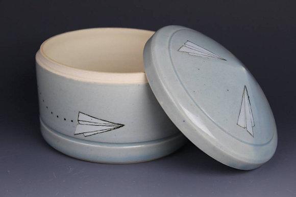 Airplane Stash Jar