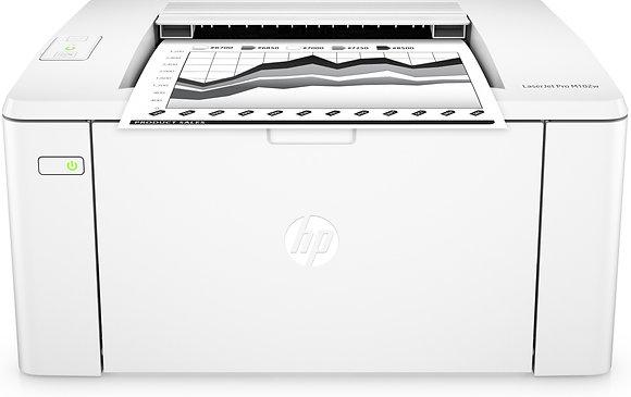 Compacte laserprinter voor een thuiskantoor of klein bedrijf.
