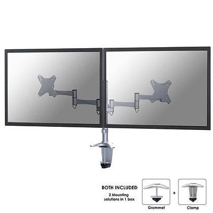 Zet uw monitors op een aangepaste hoogte met deze ergonomische monitorarm.
