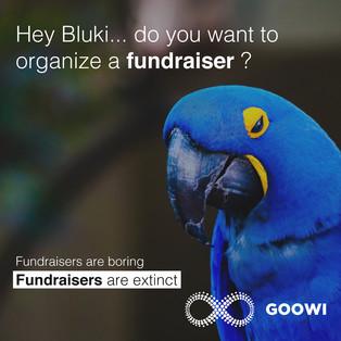 Fundraisers are extinct