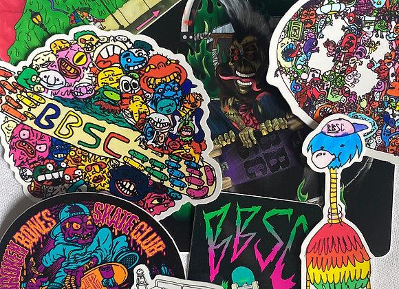 BBSC Sticker Pack