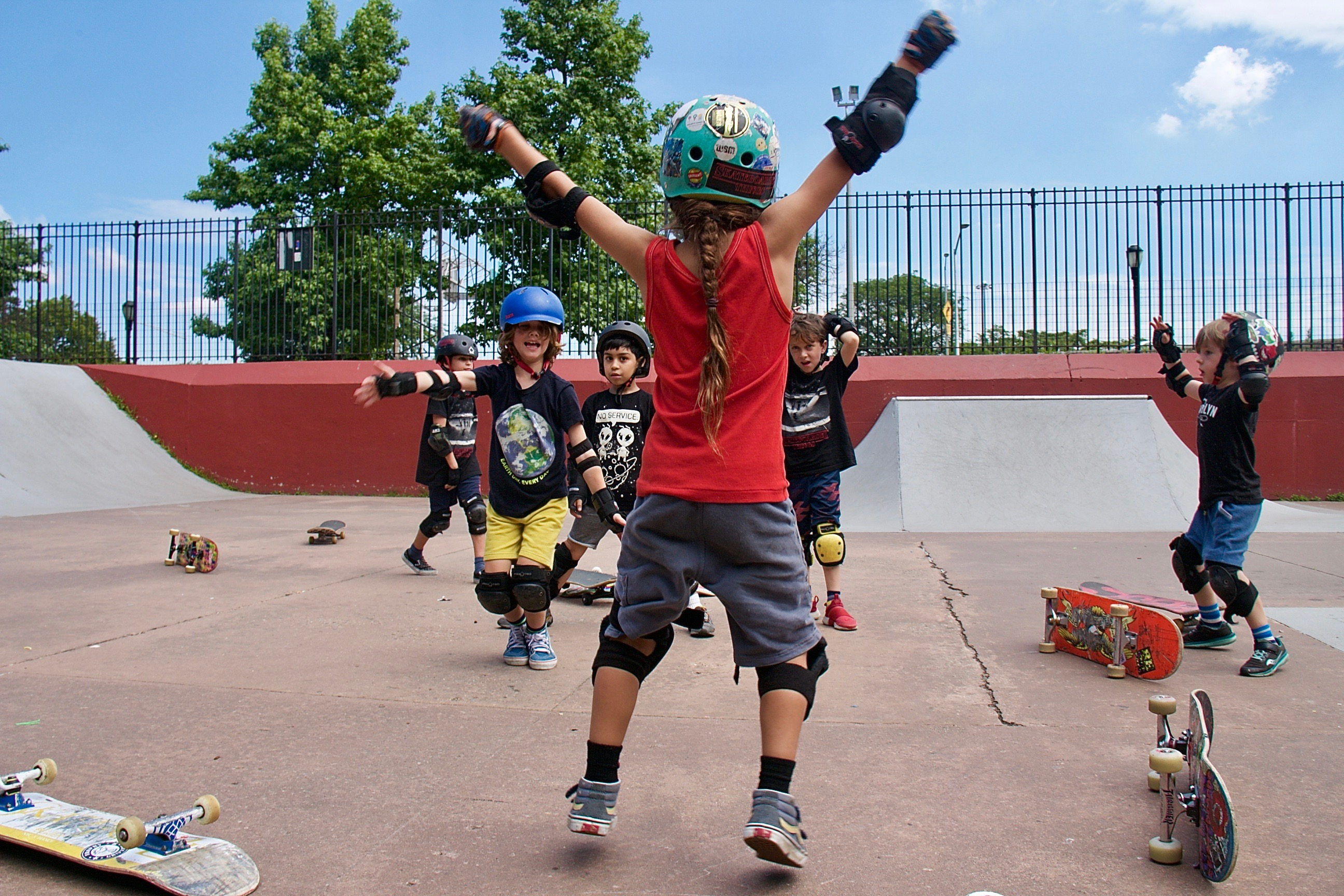 BBSC Skateboard Camp