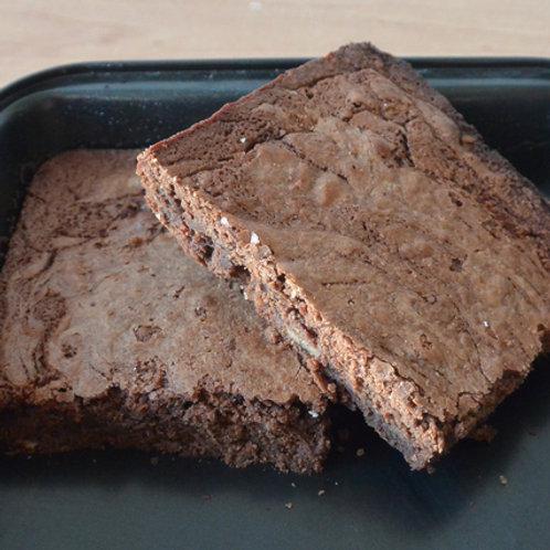 Brownie chocolat noir, noix de pécan