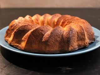 Gâteau neige à la Bergamote