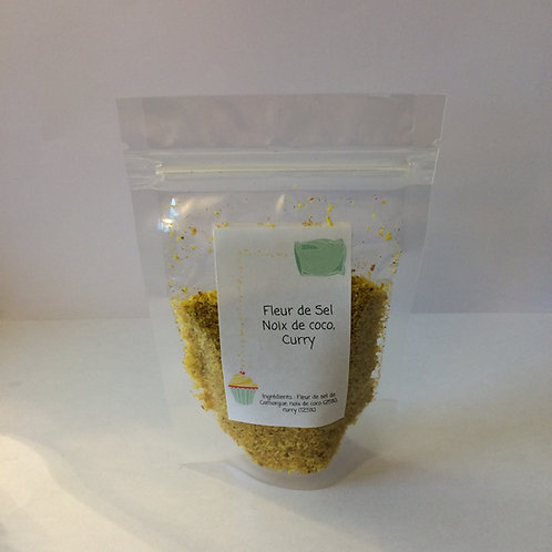 Fleur de sel coco curry