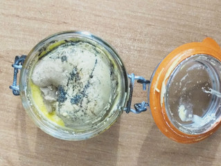 Foie gras maison à la vanille