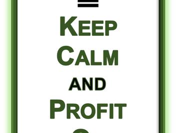 Pandemic and Profits. Prepare, Don't Panic.
