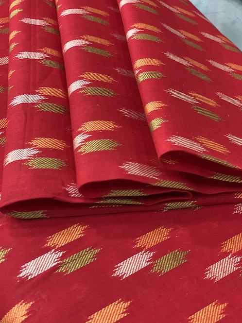 Ikkat Print Fabric