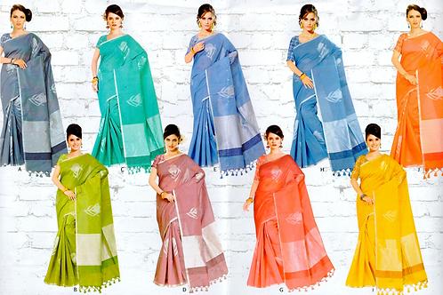 Rudra Cotton Saree