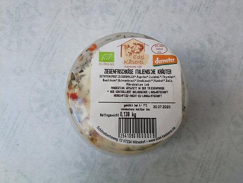 Ziegenfrischkäse ital. Kräuter, ca. 150g- 180g