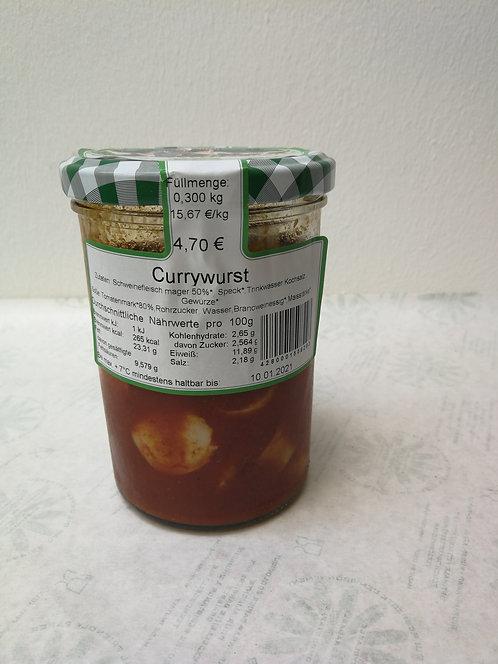 Currywurst im Glas | 350g
