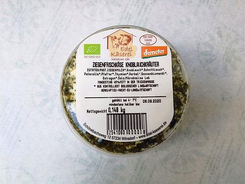Ziegenfrischkäse KnoblauchKräuter, ca. 150g-180g