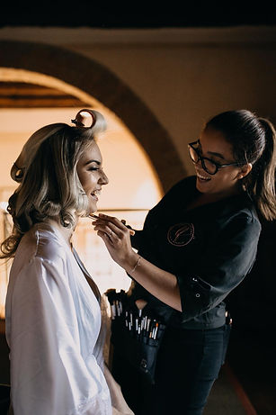 wedding makeup and hairstylist in florence, tuscany, italy