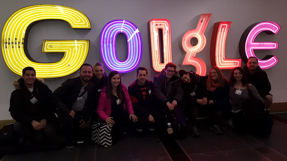 Thank you Google for hiring us for your teams enjoyment and team building