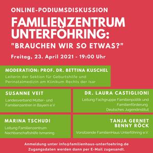 Online-Podiumsdiskussion