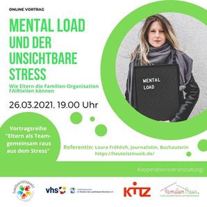 Vortrag: Mental Load und der unsichtbare Stress