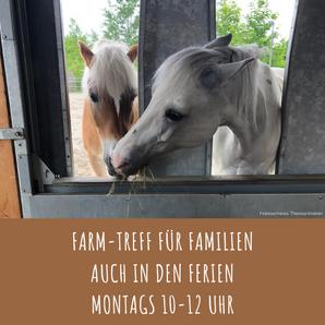 Farm-Treff für Familien auch in den Sommerferien
