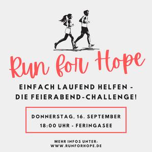 FamilienHaus-Team beim RUN for HOPE