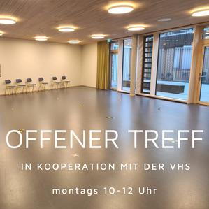 Offener Treff in Kooperation mit VHS München Nord