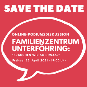 SAVE THE DATE: Online-Podiumsdiskussion