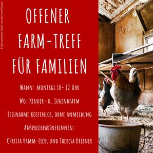 Offener Farm-Treff für Familien