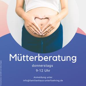 Mütterberatung in der Geschäftsstelle