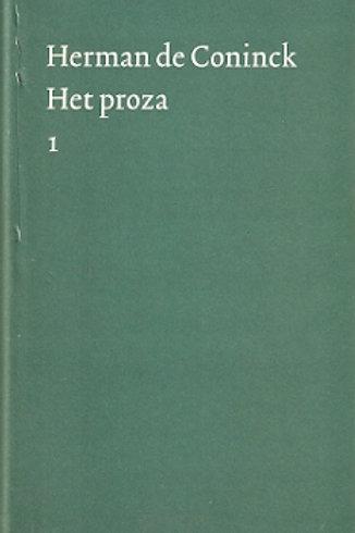 Het proza / Herman de Coninck