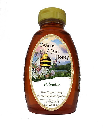 Palmetto Raw Honey 16oz
