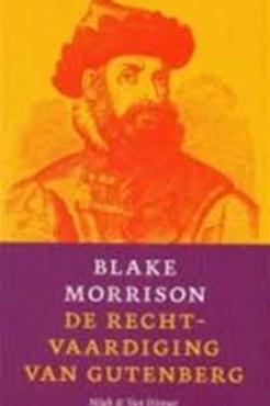De rechtvaardiging van Gutenberg / B. Morrison.