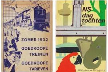 Zomer 1932. Goedkoope treinen, goedkoope tarieven.