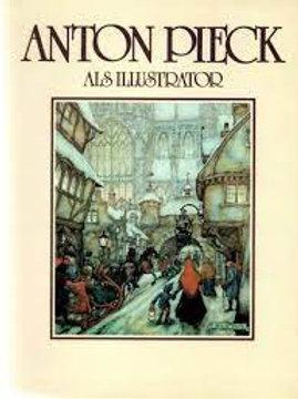 Anton Pieck als illustrator / Max Pieck. o.a.